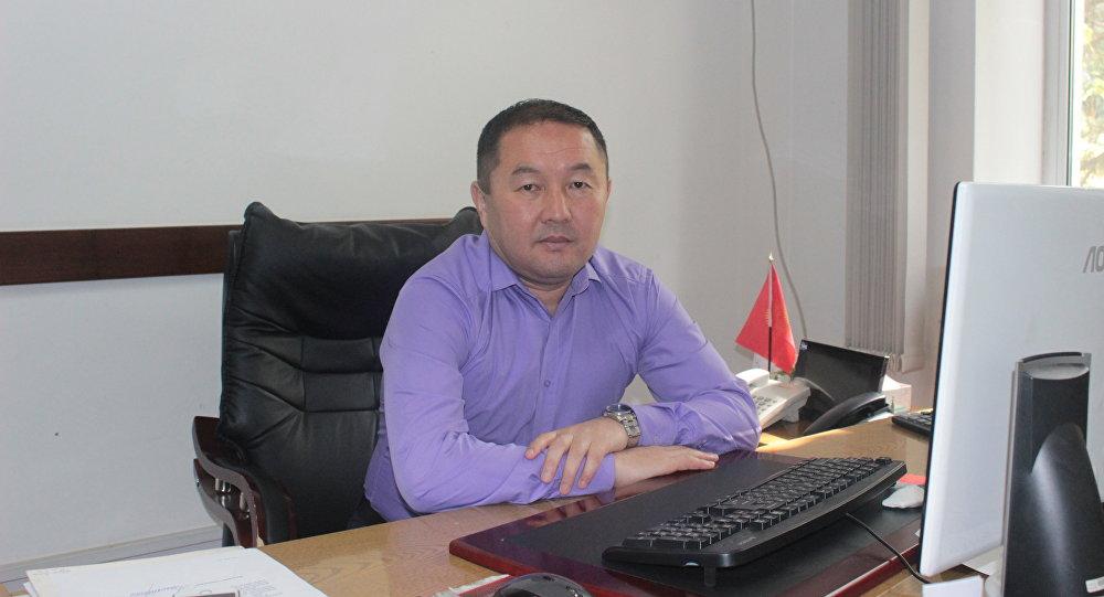Заведующий информационно-аналитическим отделом Агентства по продвижению инвестиций при Минэкономики КР Уран Чекирбаев. Архивнео фото
