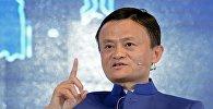 Alibaba компаниясынын негиздөөчүсү Жек Ма. Архивдик сүрөт