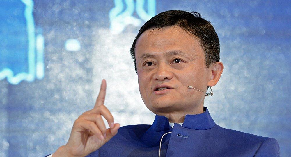 Исполнительный председатель Alibaba Group Джек Юн Ма. Архивное фото