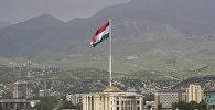 Флаг Таджикистана. Архивное фото