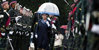 Улуу Британиянын ханышасы Елизавета II. Архивдик сүрөт