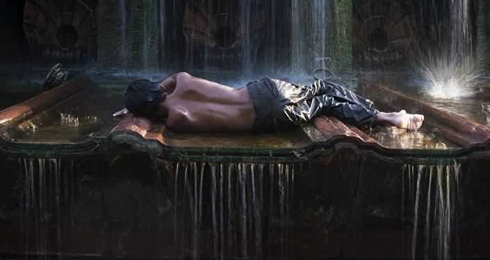 Аномальная жара в Индии. Архивное фото