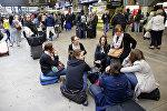 Приостановка движение на одном из крупнейших вокзалов Парижа