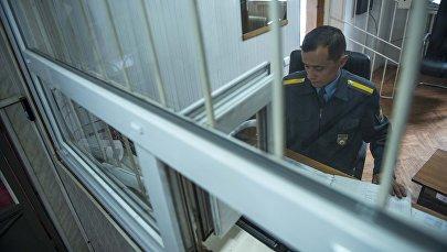Дежурная часть в отделении милиции. Архивное фото