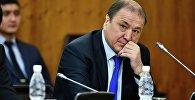 Архивное фото экс-министра внутренних дел, вице-президента Федерации спортивной борьбы КР Мелиса Турганбаева