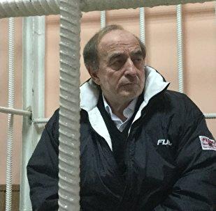 Депутат Жогорку Кенеша Хаджимурат Коркмазов в суде. Архивное фото