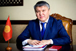 Кыргызстандын экономика министри Арзыбек Кожошев. Архив