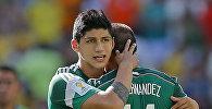 Футболист сборной Мексики Алан Пулидо. Архивное фото