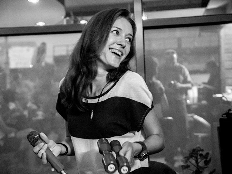 Певица и ведущая Ксения Стрельцова. Архивное фото