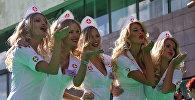 Девушки блондинки. Архивное фото