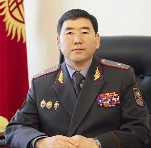 Ички иштер министринин орун басары Сүйүн Өмүрзаковдун архивдик сүрөтү