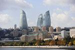 Баку шаарына көрүнүш. Архивдик сүрөт