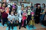 Президент Алмазбек Атамбаев Улуттук онкология борборуна барды.