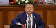 Жогорку Кеңештин спикери Чыныбай Турсунбековдун архивдик сүрөтү