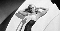Американская актриса, певица, модель Мэрилин Монро (Норма Джин Бейкер Мортенсон). Архивное фото