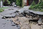 Асфальт наизнанку: в Кишиневе прошел сильнейший ливень