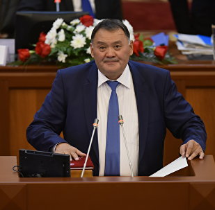 Архивное фото депутата ЖК КР от партии Онугуу-Прогресс Камчыбека Жолдошбаева