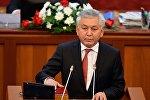 Жогорку Кеңештеги КСДП фракциясынын лидери Иса Өмүркуловдун архивдик сүрөтү