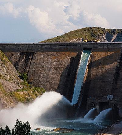 Архивное фото Кировского водохранилища