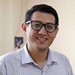 Журналист столичной газеты Вечерний Бишкек Азамат Касыбеков. Архивное фото