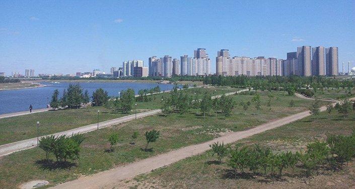 Астана шаарынын көрүнүшү