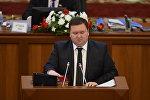 Республика — Ата-Журт фракциясынын депутаты Мирлан Жээнчороевдун архивдик сүрөтү