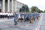 Бишкек гарнизонундагы милиция кызматкерлеринин даярдыгы