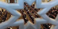 Мусульмане молятся в мечети. Архивное фото