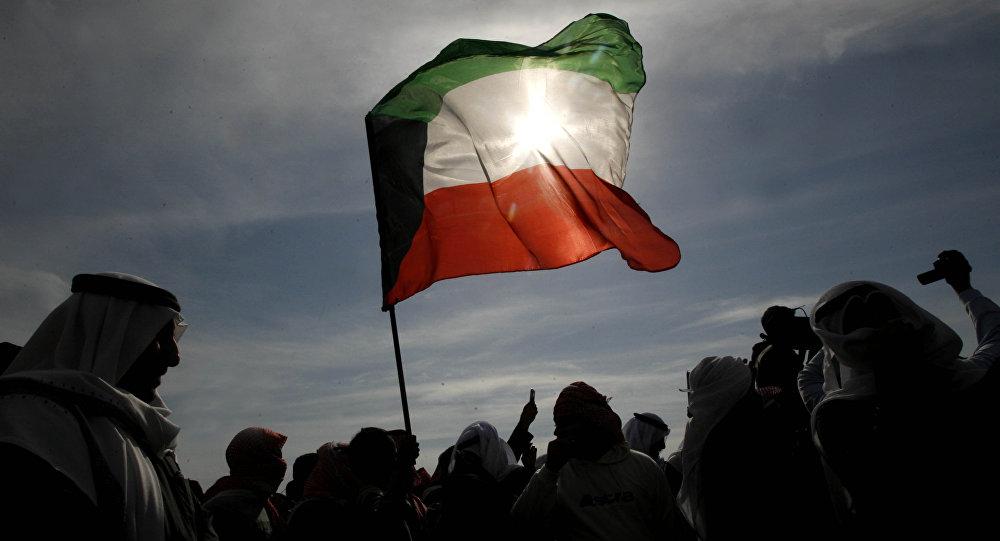 Государственный флаг Кувейта. Архивное фото