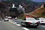 Автомобиль полиции в Японии. Архивное фото