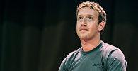 Facebook социалдык тармагынын негиздөөчүсү Марк Цукербергдун архивдик сүрөтү
