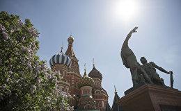 Красная площадь в центре Москвы. Архивное фото