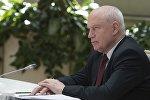 Председатель Исполнительного комитета - исполнительный секретарь СНГ Сергей Лебедев. Архивное фото