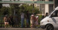 Остановка в Бишкеке. Архивное фото