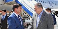Вице премьер-министр Армении Ваче Габриелян и первый вице премьер КР Мухамметкалый Абулгазиев