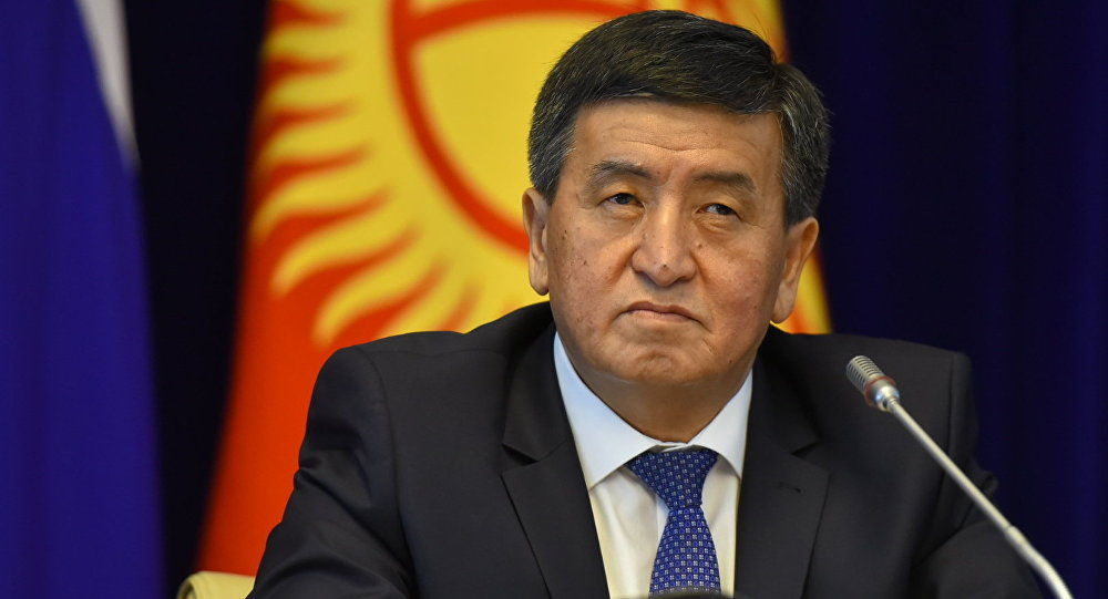 Путин подчеркнул вклад Атамбаева вразвитие отношений РФ иКиргизии
