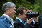 Официальный визит премьер-министра РФ Д. Медведева в КР