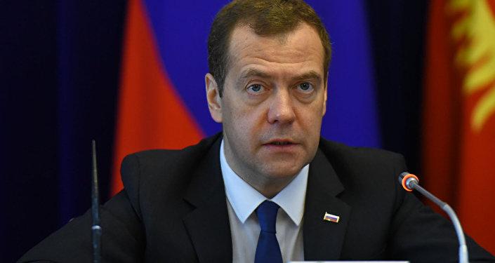 Архивное фото председателя правительства России Дмитрия Медведева