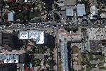 КМШ саммити учурунда Бишкектин жолдорундагы абал асмандан кандай көрүн