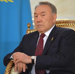 Президент Казахстана Нурсултан Назарбаев. Архивное фото