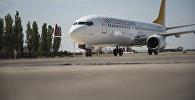 Самолет авиакомпании Air Manas. Архивное фото