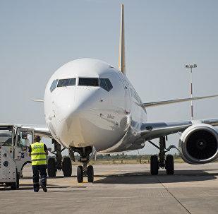 Самолет Боинг 737-800. Архивдик сүрөт
