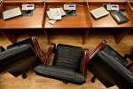 Рабочее место депутата Жогорку Кенеша