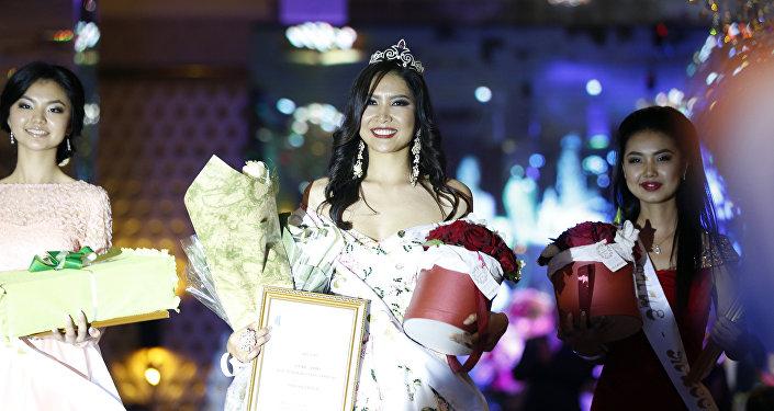 Обладательница титула Красавица Кыргызстана — 2016 Нурпери Акылова