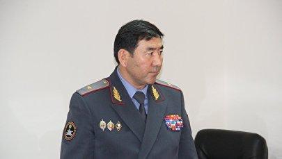 Архивное фото первого заместителя министра внутренних дел Суйуна Омурзакова