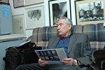 Кыргызский писатель, герой Кыргызской Республики Чингиз Айтматов. Архивное фото