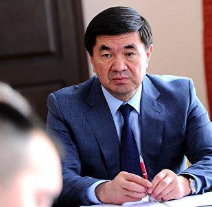 Архивное фото первого вице-премьер-министр Кыргызской Республики Мухамметкалыйа Абулгазиева