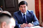 Кыргызстандын биринчи вице-премьери Мухамметкалый Абулгазиевдин архивдик сүрөту