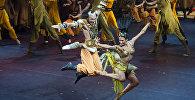 Сцена из оперы Александра Бородина Князь Игорь. Архивное фото