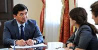 Архивное фото новоизбранного премьер-министра Кыргызской Республики Мухамметкалыя Абулгазиева